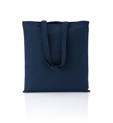 Cotton bag navy 140 gsm...