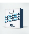Laminated paper bags size XL