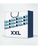 Laminated paper bags size XXL