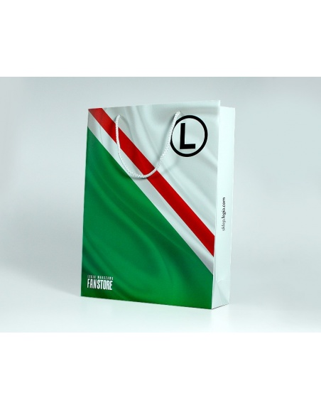 Laminated paper bags size L