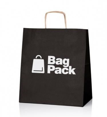 Paper bags EKO KRAFT black...