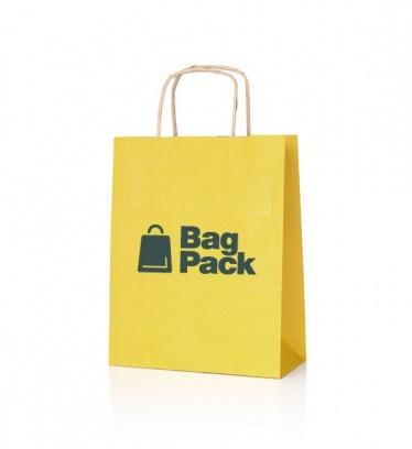 Paper bags EKO KRAFT yellow...