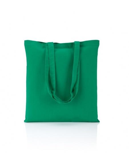 Cotton bag dark green 140...