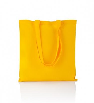 Cotton bag yellow 140 gsm /...