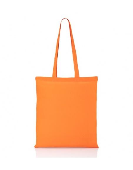 Cotton bag orange 140 gsm /...
