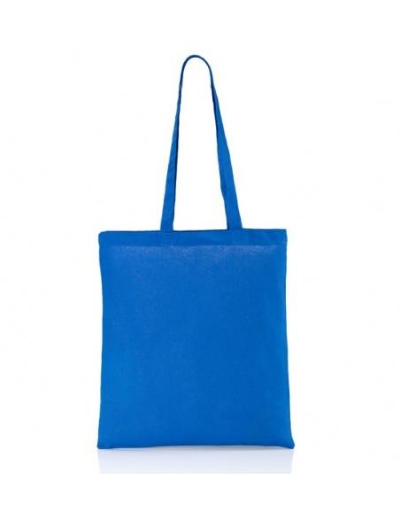 Cotton bag blue 140 gsm...