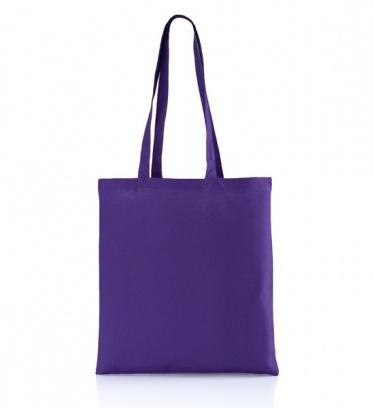 Cotton bag violet 140 gsm /...