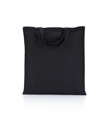 Cotton bag black 140 gsm...