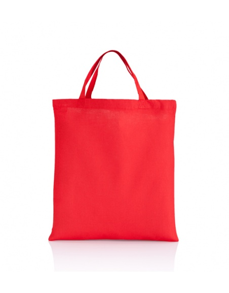 Cotton bag red 140 gsm...