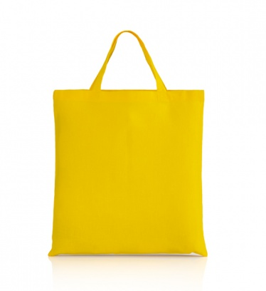 Cotton bag yellow 140 gsm...