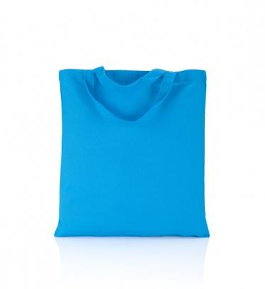 Cotton bag sky blue140 gsm...
